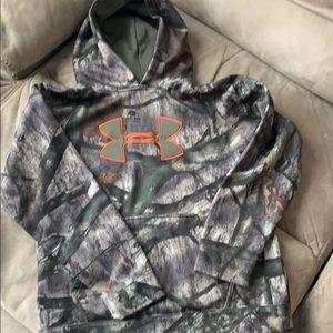 Youth Mossy Oak Under Armour sweatshirt